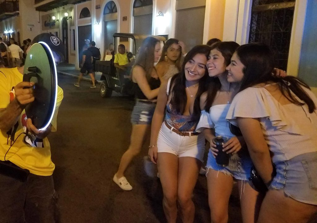 Selfie Sharing Station Photo Booth Rental at San Sebastian Festival 2020 -